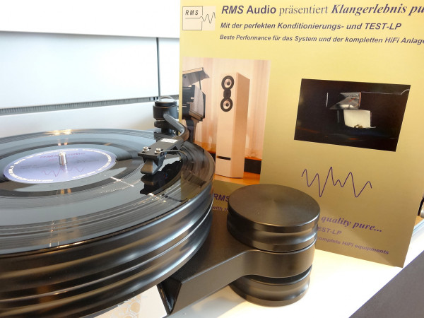 RMS Audio Konditionierungs- und Test-LP