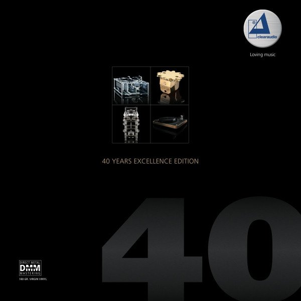 Clearaudio 40 Years Excellence Edition 180g