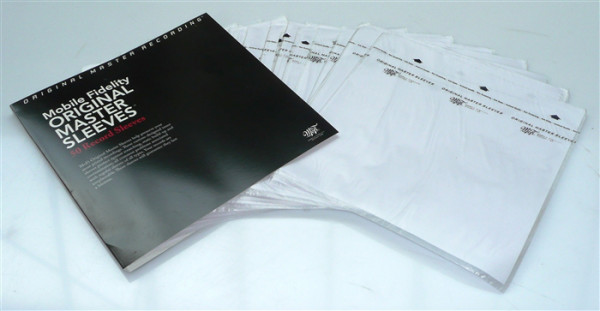 Mobile Fidelity Original Master Sleeves Schallplatten Innenhüllen