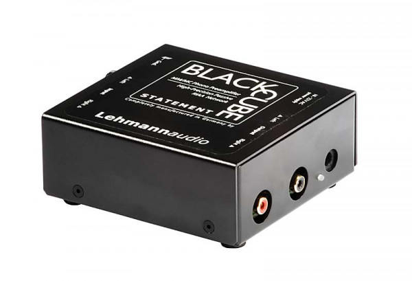 Lehmann Audio Black Cube Statement